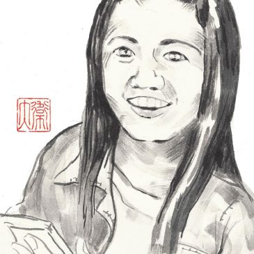 Painted Portrait: ZhenZhen (Jiaozuo, China)