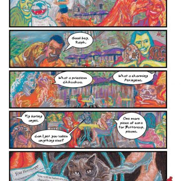 Comic Art: Bad Year to Be a Cat, comic #1, In the Former French Concession