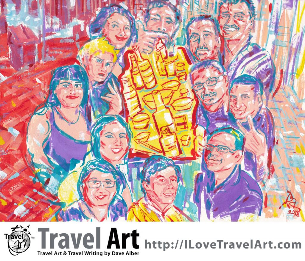 Travel Art, Dave Alber, travel, art, fine art, illustrations, illustrator, travel writer, traveler, tourism art, tourist art, travel painting, portrait painters, portrait painting, travel portrait, art resale, flip, representational, traditional, abstract art, wall art, flower painters, pet painters, gouache, chinese market, asian market, night market, dachengfang, dachengfang market, chinese night market, chinese artists, chinese painting, chinese art, chinese illustration, suzhou review, beer, beer market, eating outside, china travel, china tourism, suzhou travel, suzhou tourism, jiangsu travel, jiangsu tourism, china travel, china tourism