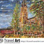 Travel Art, Dave Alber, travel, art, fine art, illustrations, illustrator, travel writer, traveler, tourism art, tourist art, travel painting, portrait painters, portrait painting, travel portrait, art resale, flip, representational, traditional, abstract art, wall art, flower painters, pet painters, chinese church, suzhou church, dushuhu lake church, dushuhu church, church architecture, church painting, church architecture painting, churches in china, oil painting, impasto, impasto painting, chinese oil painting, chinese impasto, chinese art, suzhou art, christianity in china, chinese christianity, china travel, china tourism, suzhou travel, suzhou tourism, jiangsu travel, jiangsu tourism, china travel, china tourism