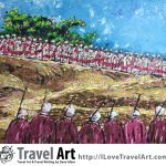 Travel Art, Dave Alber, travel, art, fine art, illustrations, illustrator, travel writer, traveler, tourism art, tourist art, travel painting, portrait painters, portrait painting, travel portrait, art resale, flip, representational, traditional, abstract art, wall art, flower painters, pet painters, ethiopia art, ethiopia painting, ethiopian art, ethiopian painting, lalibela travel, lalibela tourism, ethiopia travel, ethiopia tourism, ethiopia rosary, ethiopian priests, ethiopian christianity, ethiopian christians, ethiopian religion, timkat festival, ethiopian epiphany, ethiopian annunciation, impasto painting, oil painting, impasto art, art travel