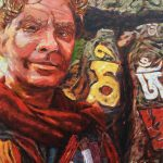 Travel Art, Dave Alber, travel, art, fine art, illustrations, illustrator, travel writer, traveler, tourism art, tourist art, travel painting, portrait painters, portrait painting, travel portrait, art resale, flip, representational, traditional, abstract art, wall art, flower painters, pet painters, dave alber self portrait, self portrait, swayambunath, monkey temple, kathmandu temple, kathmandu buddhism, buddhist portrait, nepal portait, nepal painting, kathmandu portrait, nepal travel, kathmandu travel, nepal tourism, kathmandu tourism, buddhist tourism, buddhist travel, oil painting, oil portrait, impasto painting
