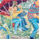 Travel Art, Dave Alber, travel, art, fine art, illustrations, illustrator, travel writer, traveler, tourism art, tourist art, travel painting, portrait painters, portrait painting, travel portrait, art resale, flip, representational, traditional, abstract art, wall art, flower painters, pet painters, waiguaren, suzhou, suzhou china, suzhou painting, chinese boy, rickshaw, bicycle rickshaw, chinese rickshaw, chinese daily life, chinese city, chinese traffic, tourist, suzhou art, gouache, suzhou travel, suzhou tourism, jiangsu travel, jiangsu tourism, china travel, china tourism